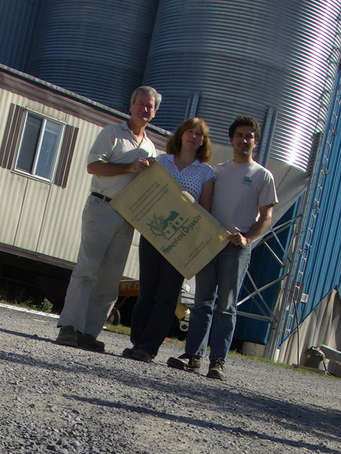 The Manley Family Celebrates 25 Years of Homestead Organics in Berwick Ontario – October 14, 2013