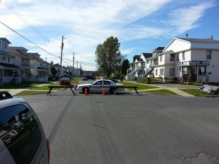 Pedestrian Accident Leads to Street Closure in Cornwall Ontario – Oct 11, 2013  UPDATED