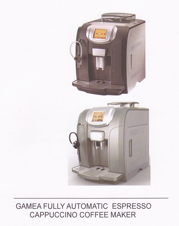 Coffey's Coffee Now Offers Gamea Fully Automatic Espresso Cappuccino Coffee Makers CLICK FOR DETAILS
