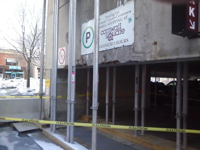 Redcliff Owned Triovest Managed Cornwall Square Parking Garage Under Investigation by Jamie Gilcig