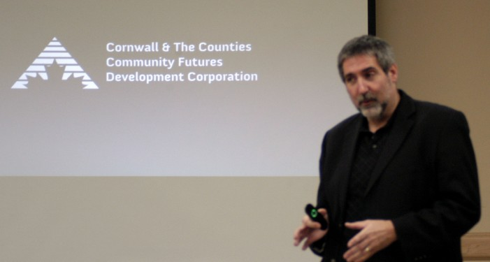 Economic Development Focus of Presentation at South Stormont Chamber of Commerce – Nov 21, 2013