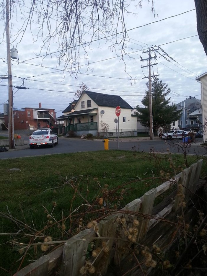 BREAKING – Police Operation in East End of Cornwall Ontario near Louisa and Prince Albert
