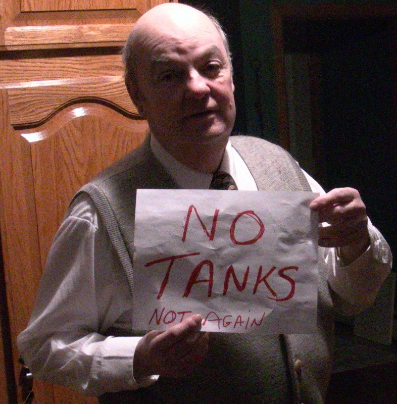 Chuck NO TANKS
