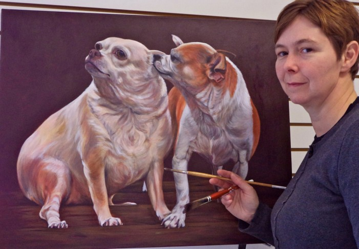 The Art of Everything By Mary Anne Pankhurst  An Interview with Painter Lesley McVicar on the Art of Canine Portraiture