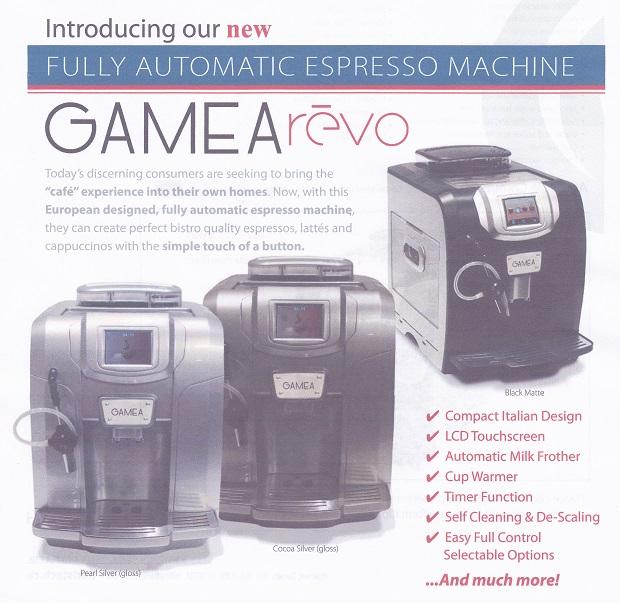 Gamea Coffee Machine edited