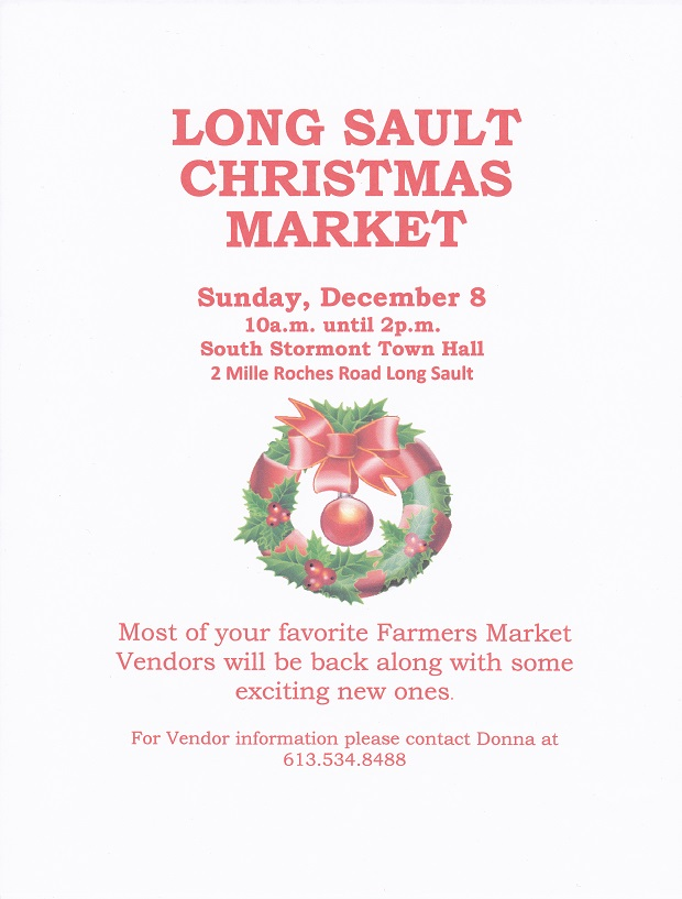 Long Sault Christmas Market on Sunday, December 8, 2013 by Reg Coffey