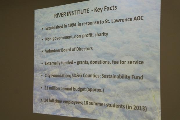 River Institute 11Dec13