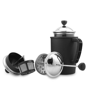 French Press with tea option only $29.00 plus HST