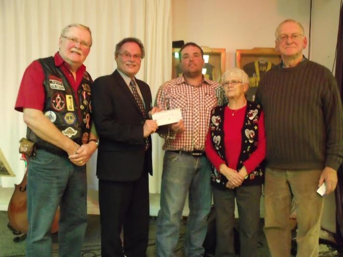 Perley Rideau Vets Hospital in Ottawa Gets $1,000 Donation South Stormont Cattlemen  & Canadian Veteran Freedom Riders