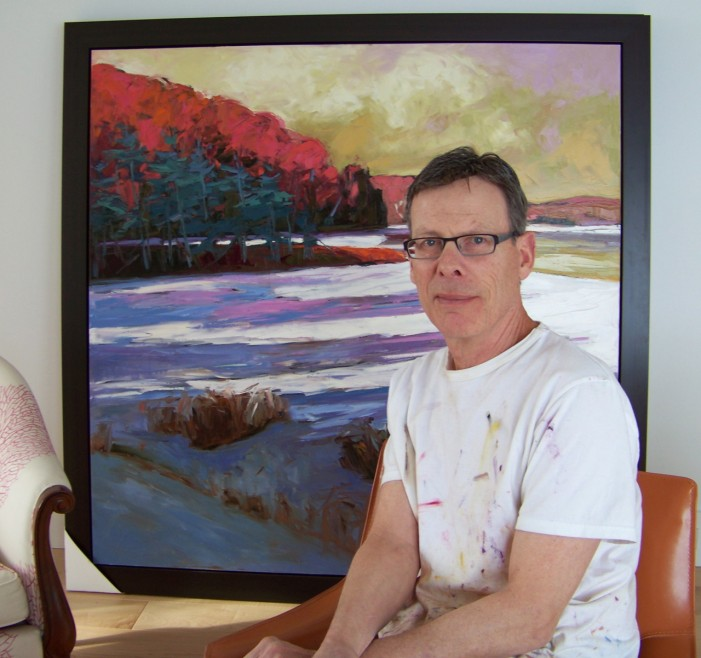 The Art of Everything By Mary Anne Pankhurst An Interview with Internationally Renowned Canadian Landscape Painter, Gordon Harrison