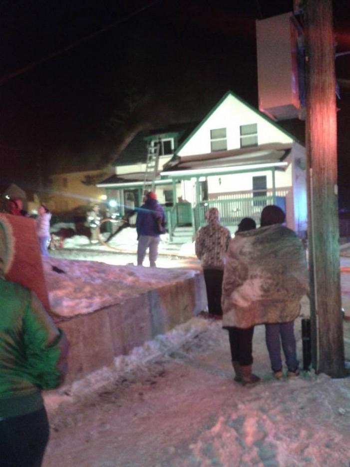 Fire on Louisa & Montreal Road in Cornwall Ontario Kills Cat – Jan 28, 2014