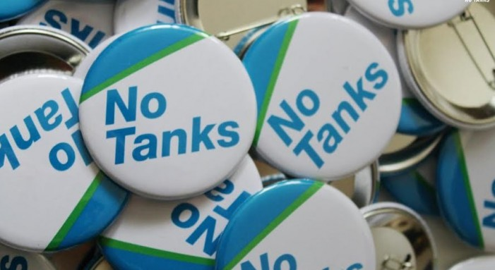 Chem Chem Tank Rally For Monday April 14 before City Council Meeting in Cornwall Ontario