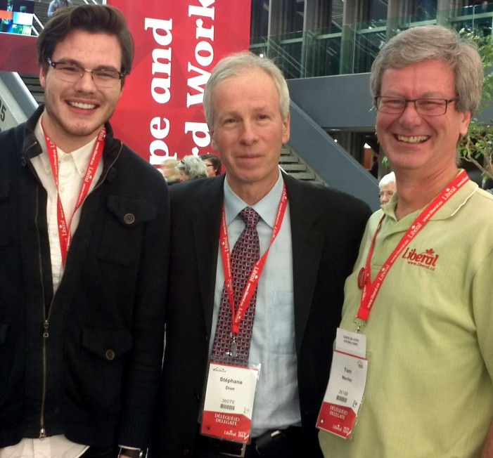 Tom Manley – Day 2 from the National Liberal Convention in Montreal – Feb 22, 2014 #cdnpoli