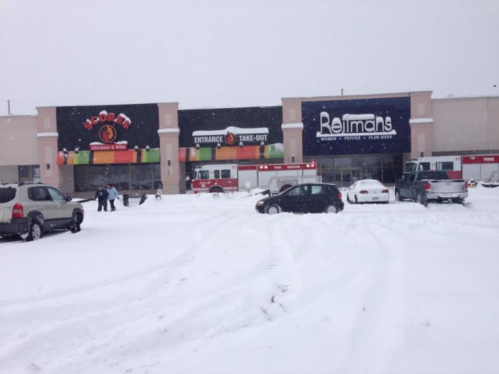 Things Heat up at Scores in Cornwall Ontario as Firetrucks Arrive – Friday Feb 14, 2014