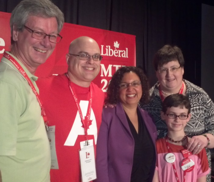 Tom Manley at the Federal Liberal Biennial Policy Convention in Montreal – Feb 25, 2014