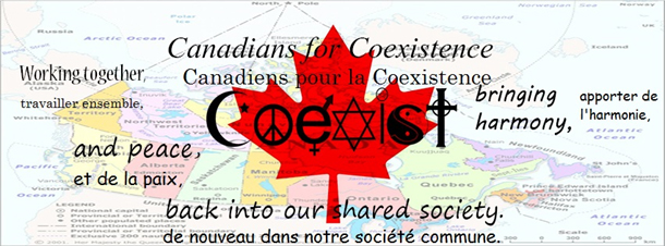 Canadians for Coexistence Interfaith Celebration March 9th 2014 5305 Rosedale Ave. MONTREAL