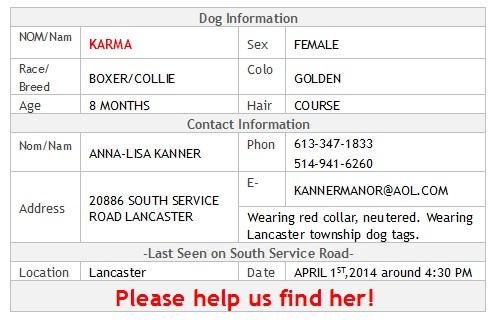 Karma info