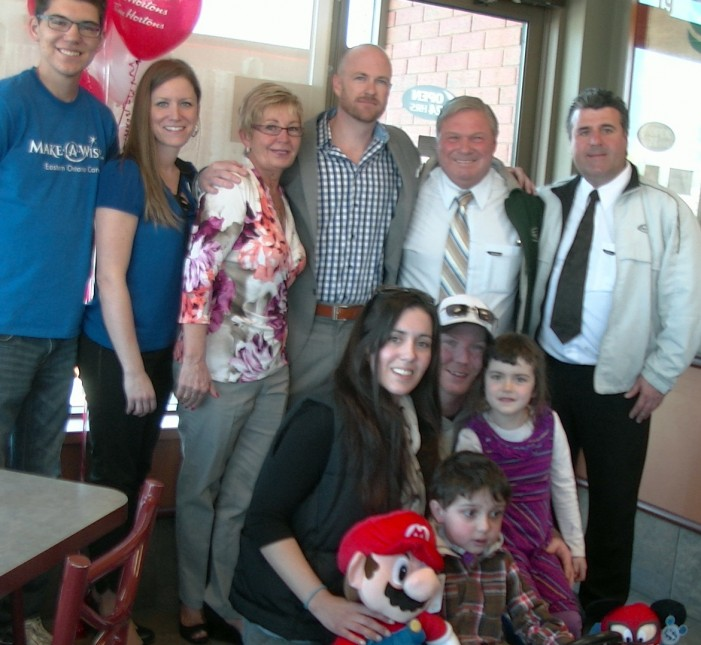 Local Tim Horton's Sends Landon to Disney Thanks to Make A Wish of Eastern Ontario