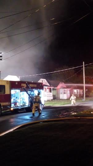Friday Fire on 7th Street East in Cornwall Ontario – May 31, 2014