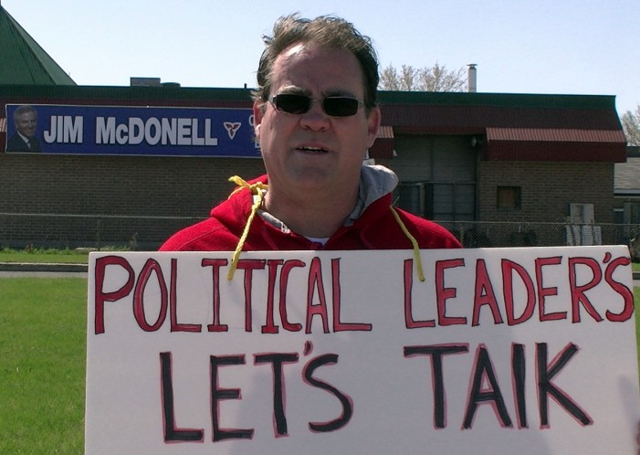 EOHU Refuses to Comment on Forced Bilingual Protester Nurse Chris Cameron in Cornwall Ontario