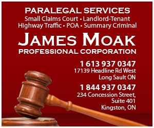 Cornwall & Kingston Area Paralegal James Moak Comments on New Standard Lease in Ontario 050418