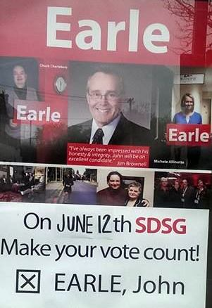 SD&G Liberal Candidate Patronage Prince John Earle Falls to 3rd in 308.com Polling for Upcoming Ontario Election by Jamie Gilcig