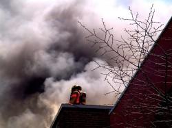 fred fire smoke