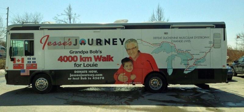 grandpa bob bus