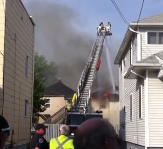 Fire and Explosions Destroy 319 Louisa in Cornwall Ontario – June 2, 2014