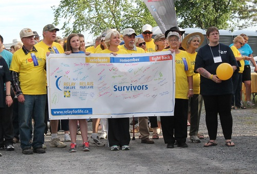 Relay for life Survivors Walk 2 20Jun14