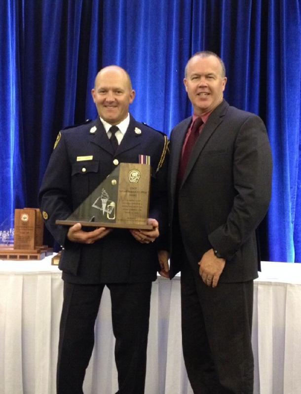 Alexandria SD&G OPP Cst. JOEL DOIRON RECEIVES OACP AWARD – July 4, 2014
