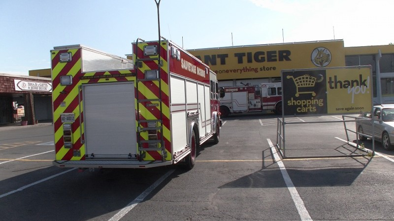 fire trucks giant tiger