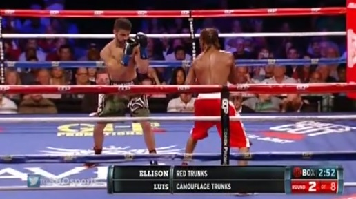 Cornwall Ontario Fighter Tony Luis Gives Wanzell Ellison his First Pro Loss Unanimous Decision on ShoBOX The New Generation