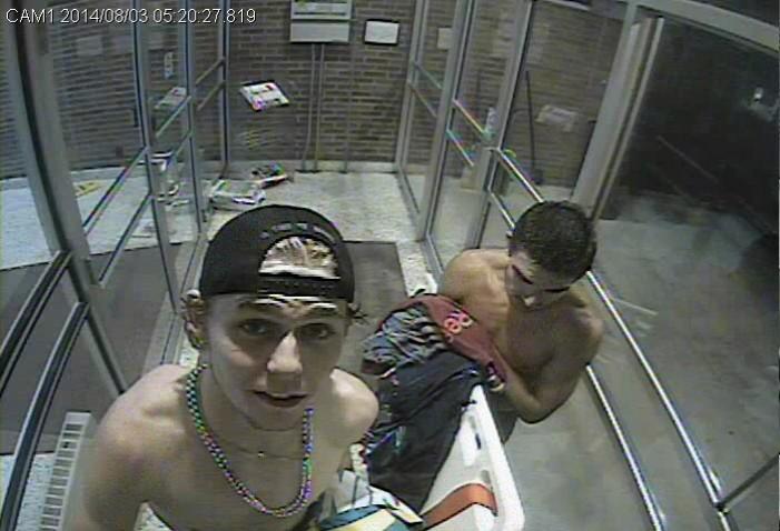 Kingston Police Service SEEKING Pool Punks Caught on Camera ! August 7, 2014  KPS