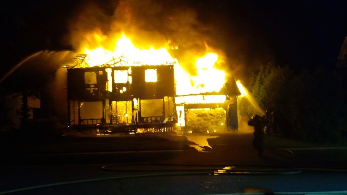Fire that Destroyed 22 Caldwell Drive in Morrisburg Ontario Under Investigation