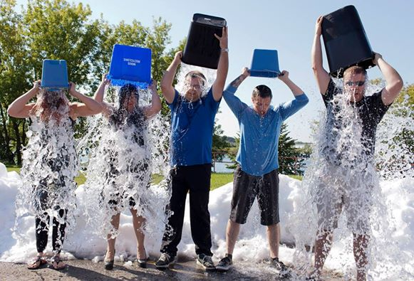 Local Media Cheapen ALS Challenge in Cornwall Ontario by Playing Petty Politics – Aug 25, 2014