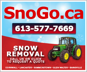 SNOGO WEATHER ALERT  –  Winter Storm Set to Hit Cornwall with up to 20 CM of Snow this Weekend – January 2, 2015