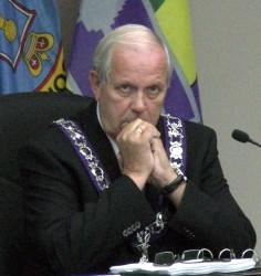 Latour good friend Cornwall Mayor Bob Kilger