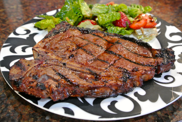 The Paleo Princess Kristin Blasiak Presents T Bone – The King of Steaks! Sept 4, 2014