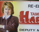 tammy defaced sign