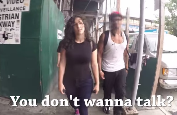 Really?  Shoshana Roberts Hollaback Big Apple Video Proves What? By Jamie Gilcig  #NYC