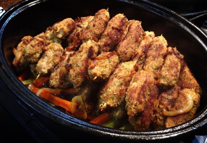 Paleo Princess Kristin Blasiak Presents Patychky! (Ukrainian Pork on Skewers) December 20, 2014