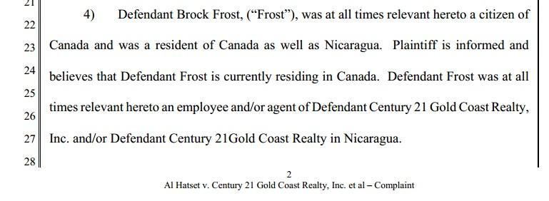 Brock Frost hatset 1