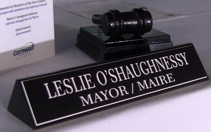 Cornwall Mayor Leslie O'Shaughnessy Confronted at Civic Complex Debate by Julie Johnston  101118