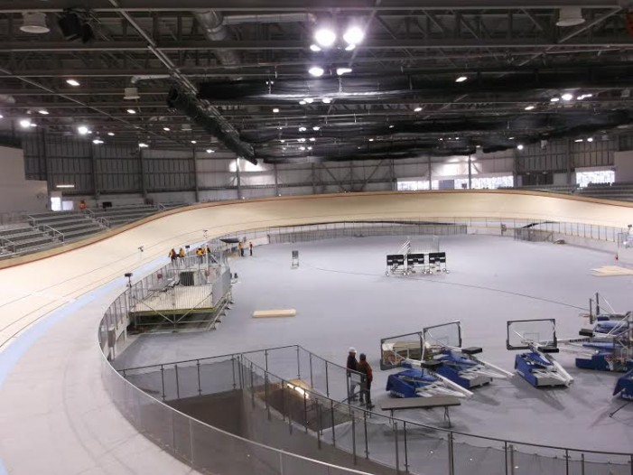 Sneak Peek at the new $63M Velodrome in Milton Ontario by Roy Berger 19/12/14