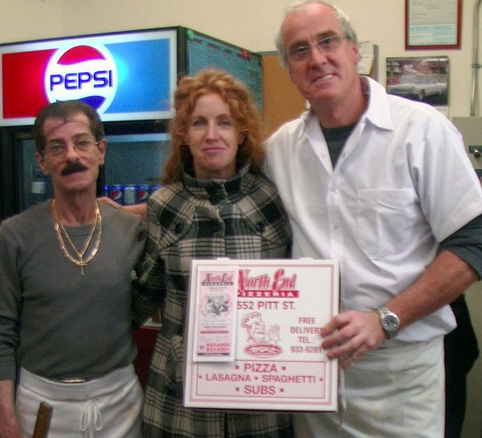 Lucy Shaver Wins Our Pizza for a Year Contest in Cornwall Ontario!  DEC 1, 2014