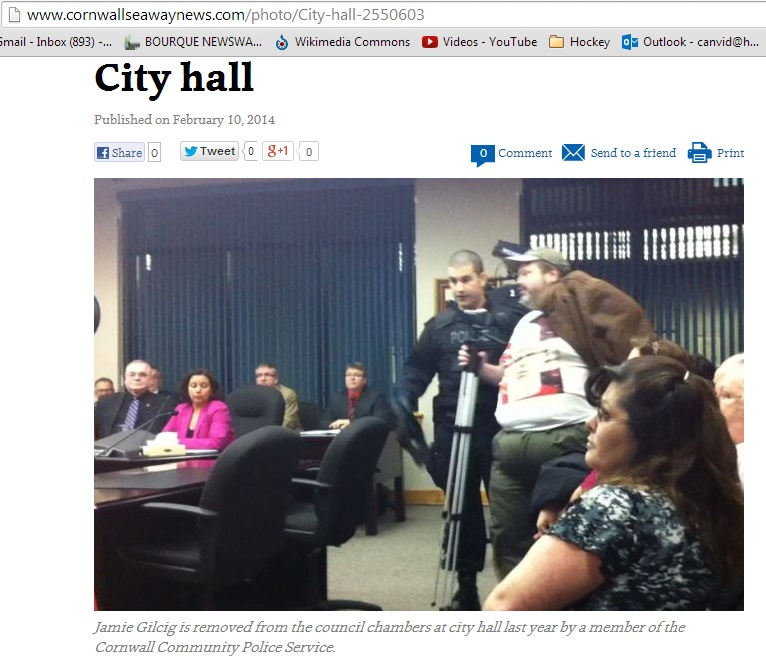 gilcig removed from city council published by seaway news feb 10 2014
