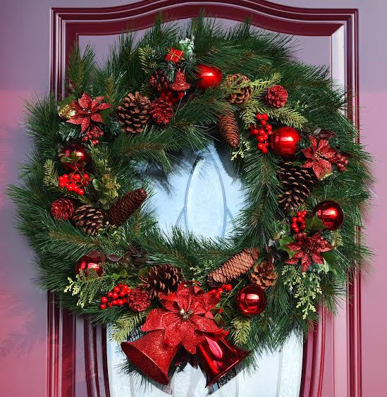 xmas wreath hanson RW