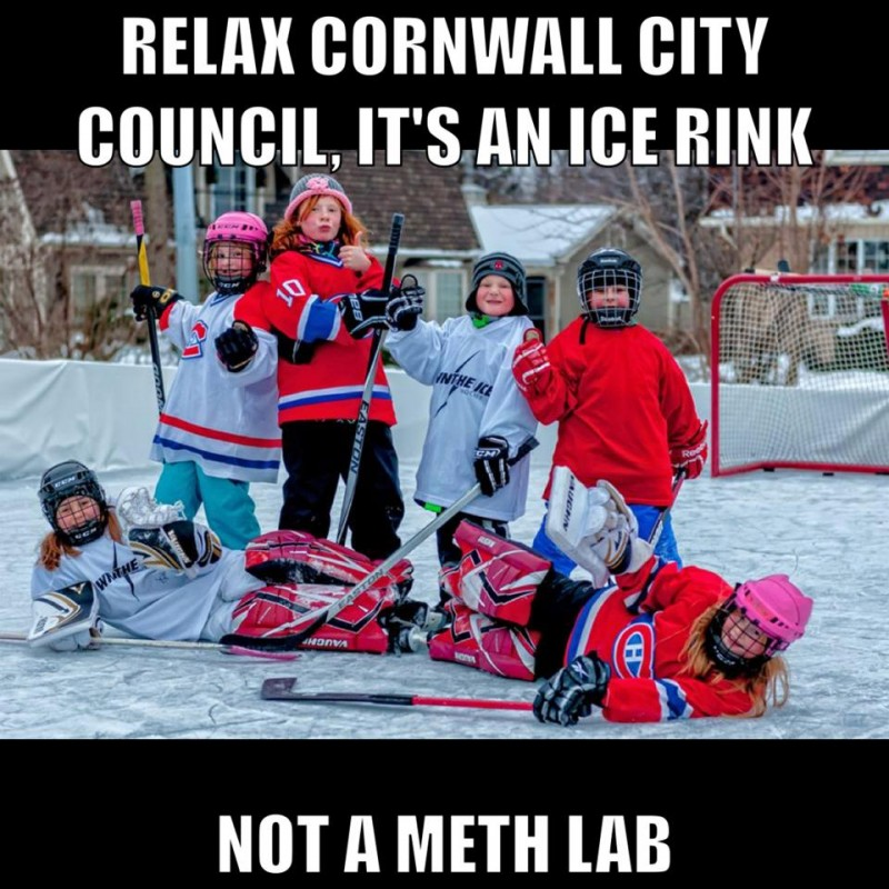 Relax it's just a rink