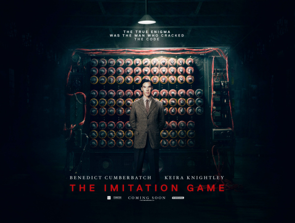 The Imitation Game Review by Jamie Gilcig in Cornwall Ontario 5 Bags of Popcorn  JAN 26, 2015